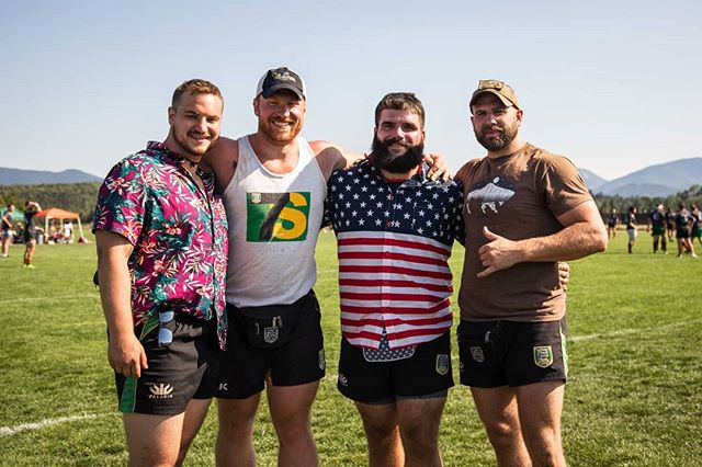 Couldn't have asked for a better time! #CanAm #rugby #oldbreed #oldbreedrugby #newhavenrugby #ctrugby