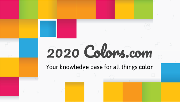 2020 Colors, your knowledge base for all things oclor