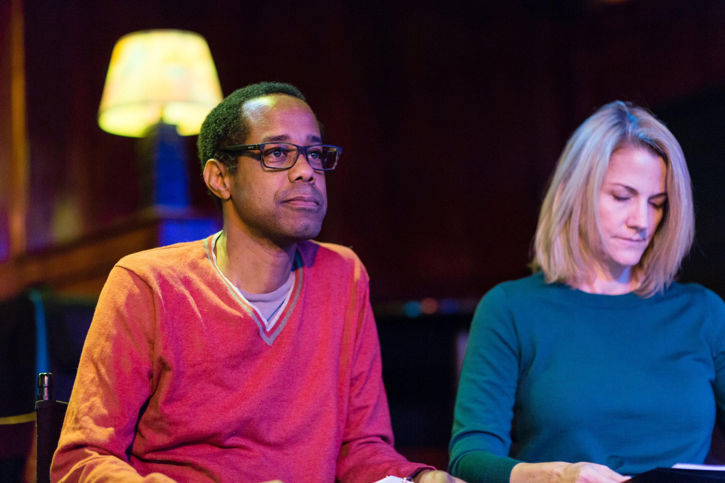 Wayne Wilderson (Veep) and Nancy Carell (Angie Tribeca)