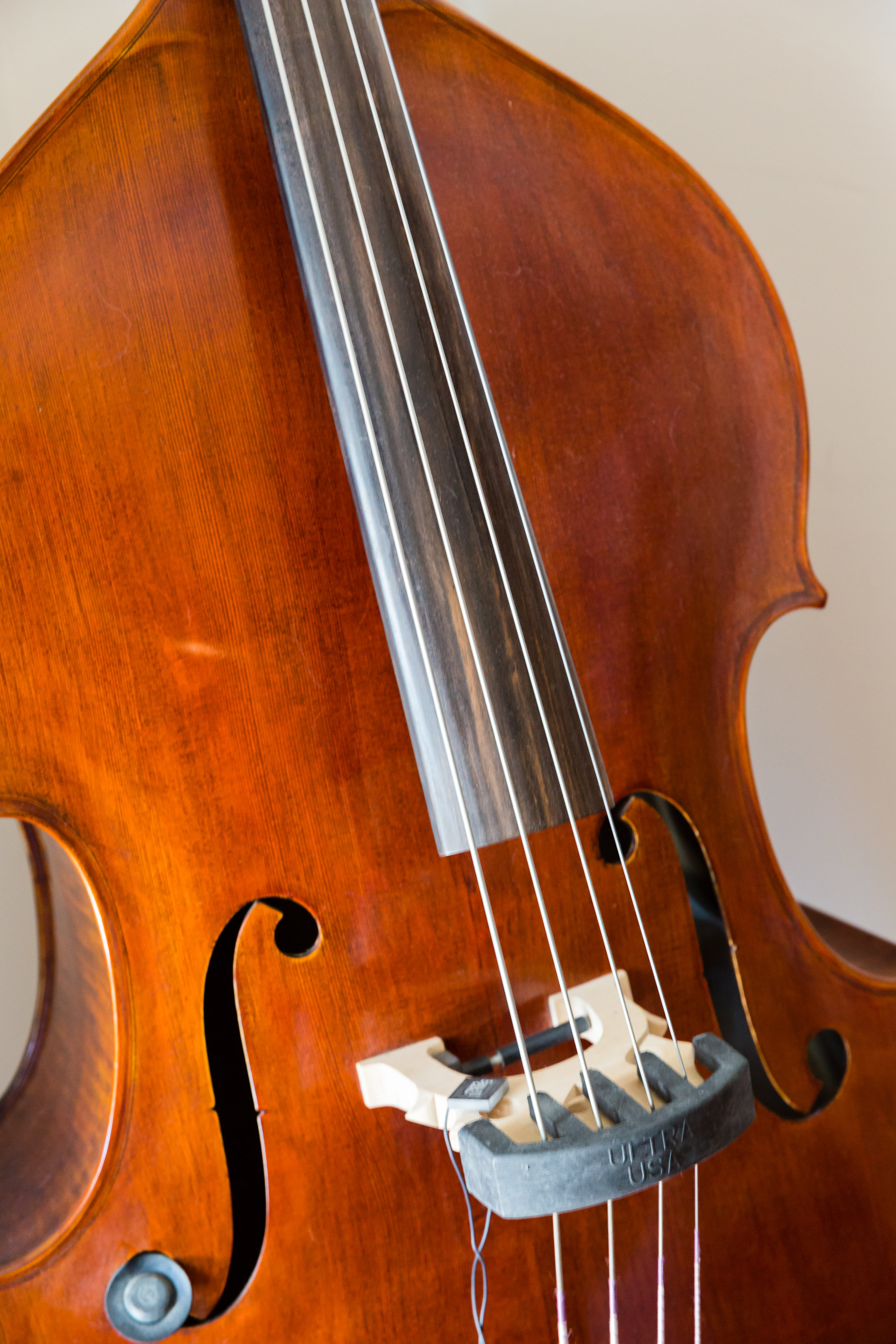 While we did not get to hear Geoffrey play on his wedding day we definitely wanted to capture this beauty, his very own upright bass.