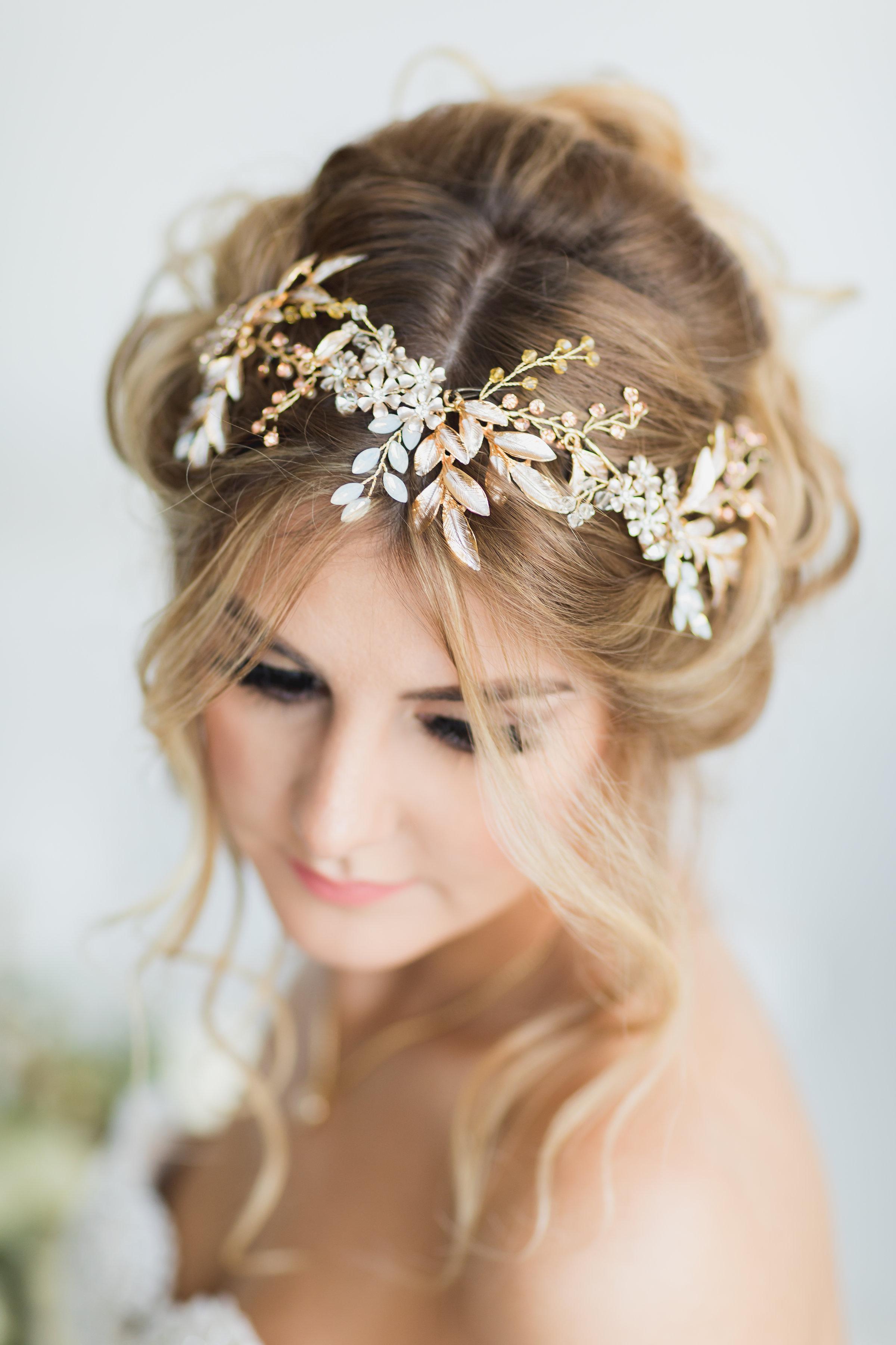 Bride LA Wedding Photography Getting Ready Portrait.jpg