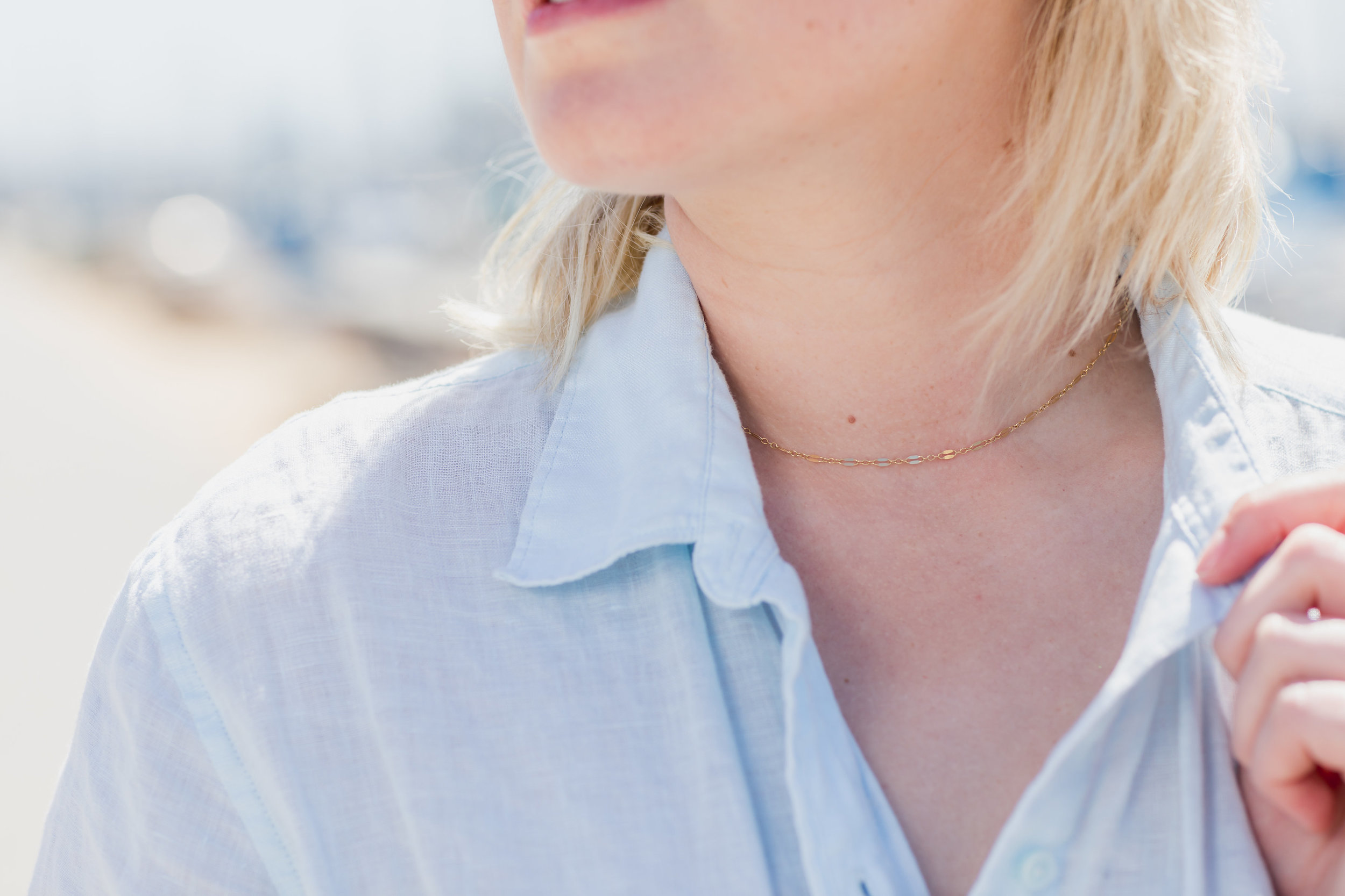 Product jewelry model photography necklace by Love and Chambray.jpg
