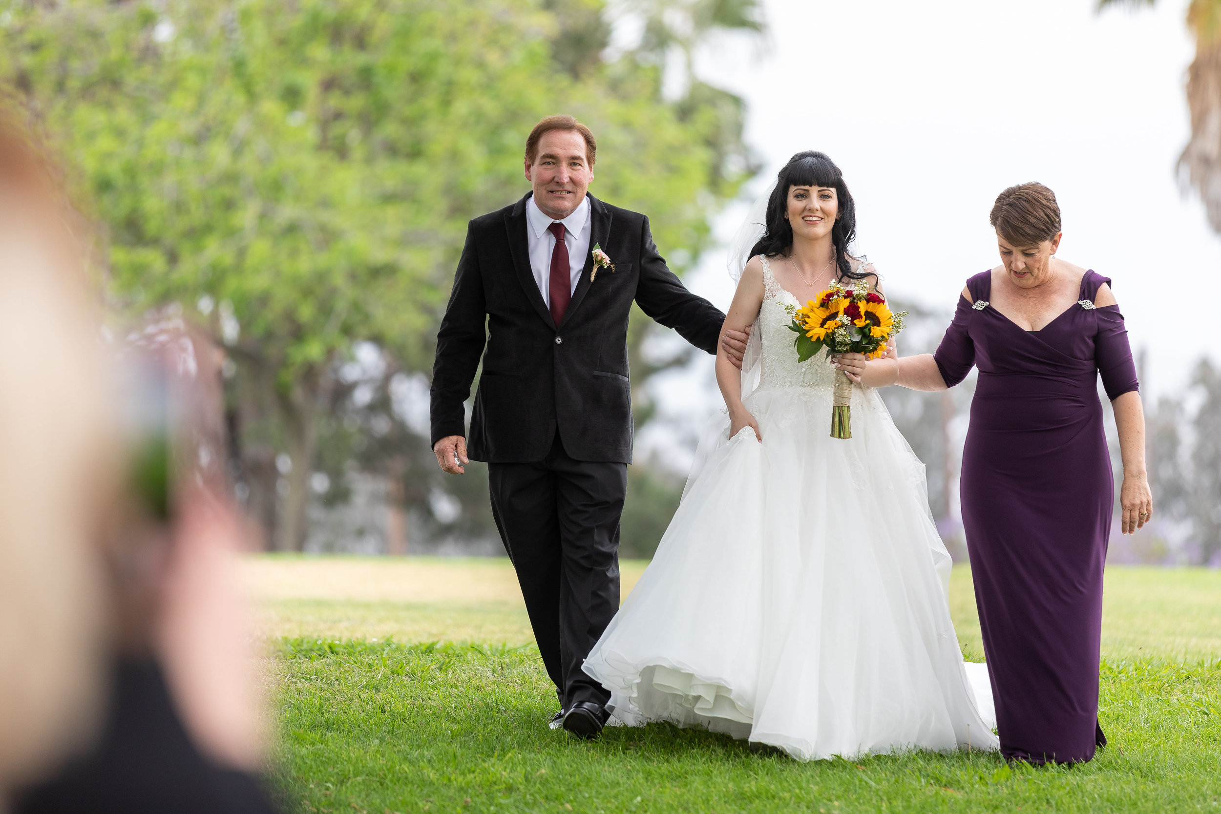 Photo of Wedding Bride walking down the aisle.jpg