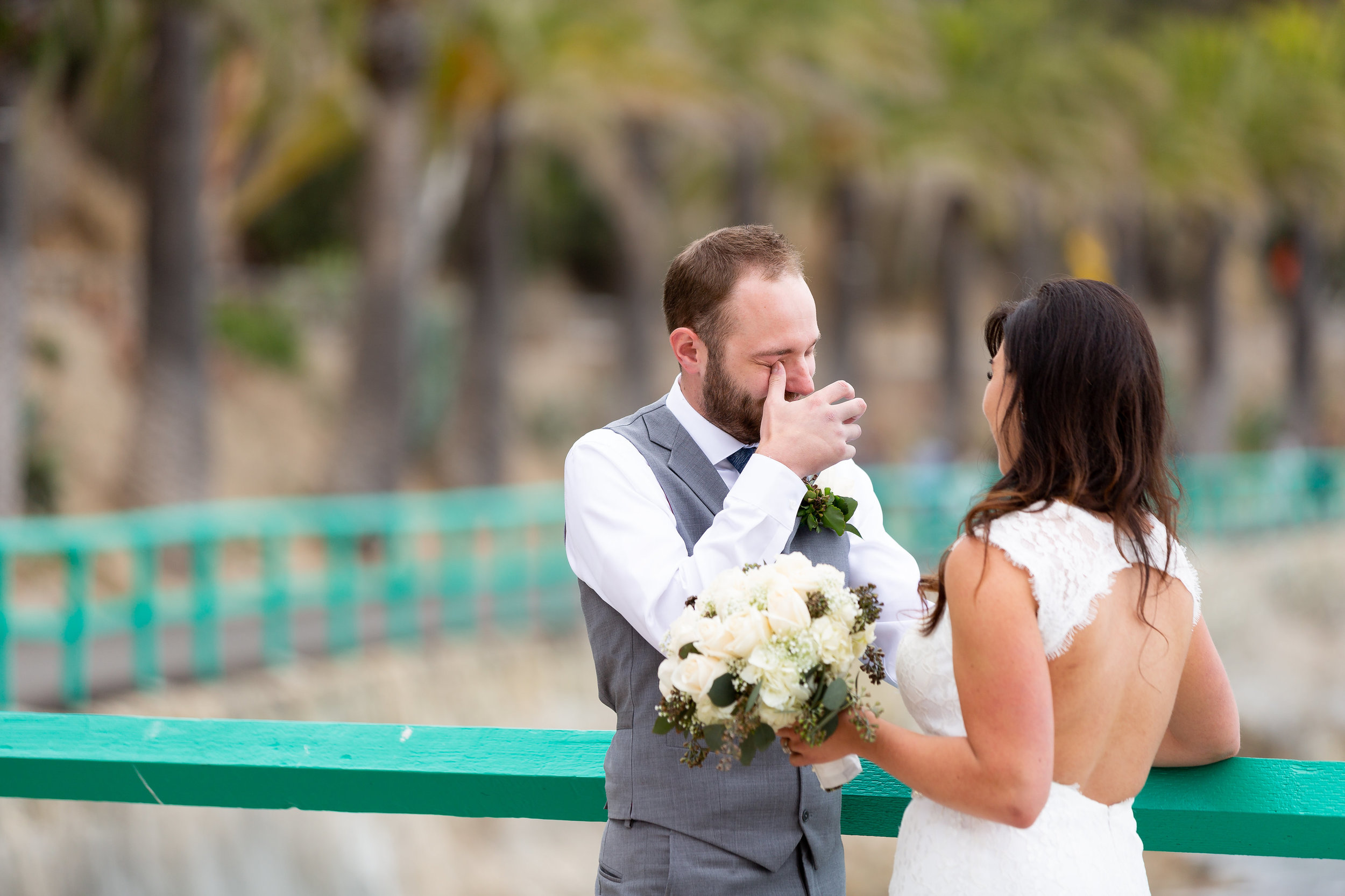 Photo of Wedding First Look with Happy Tears.jpg