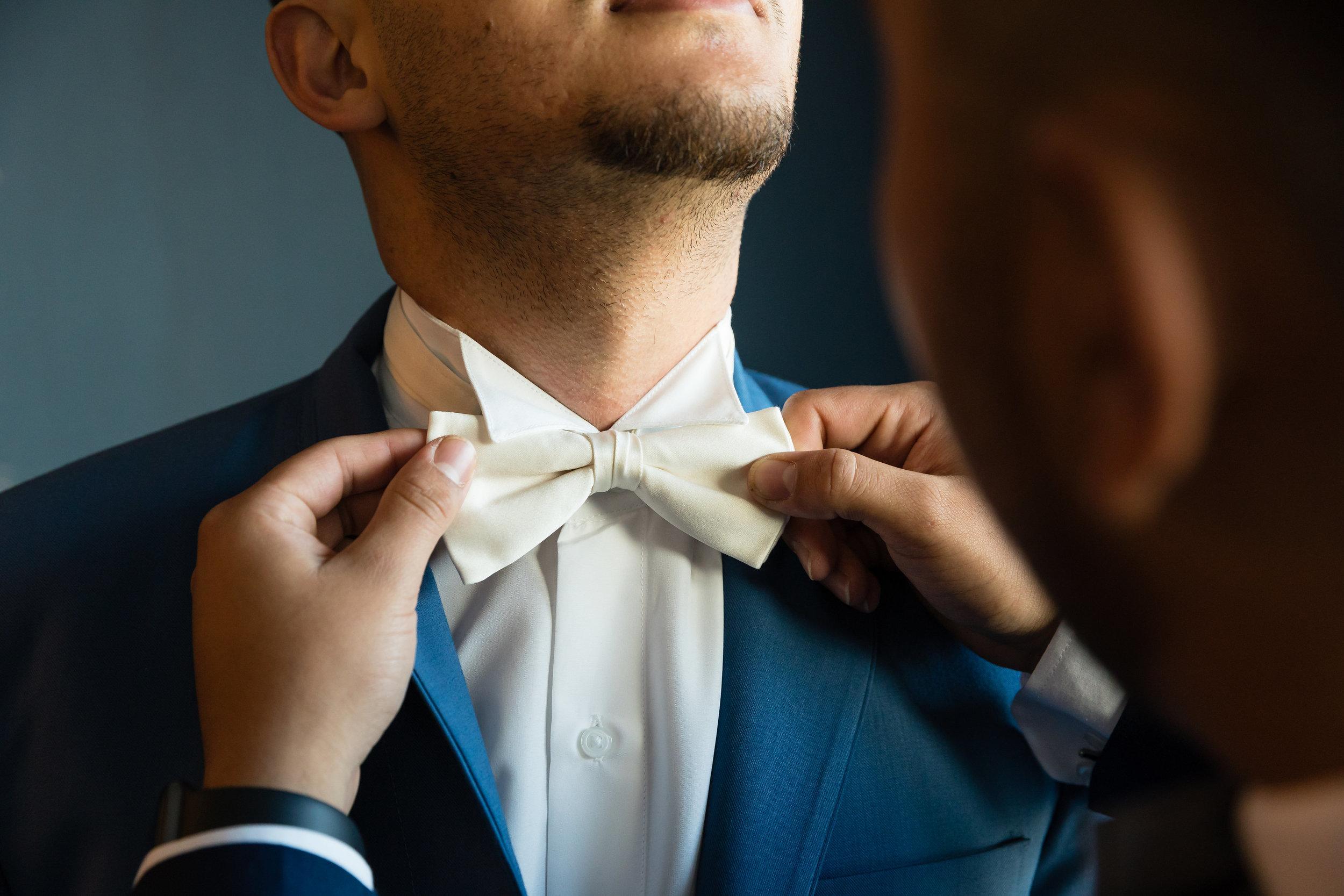 Wedding Photo of Groom Getting Ready in LA.jpg
