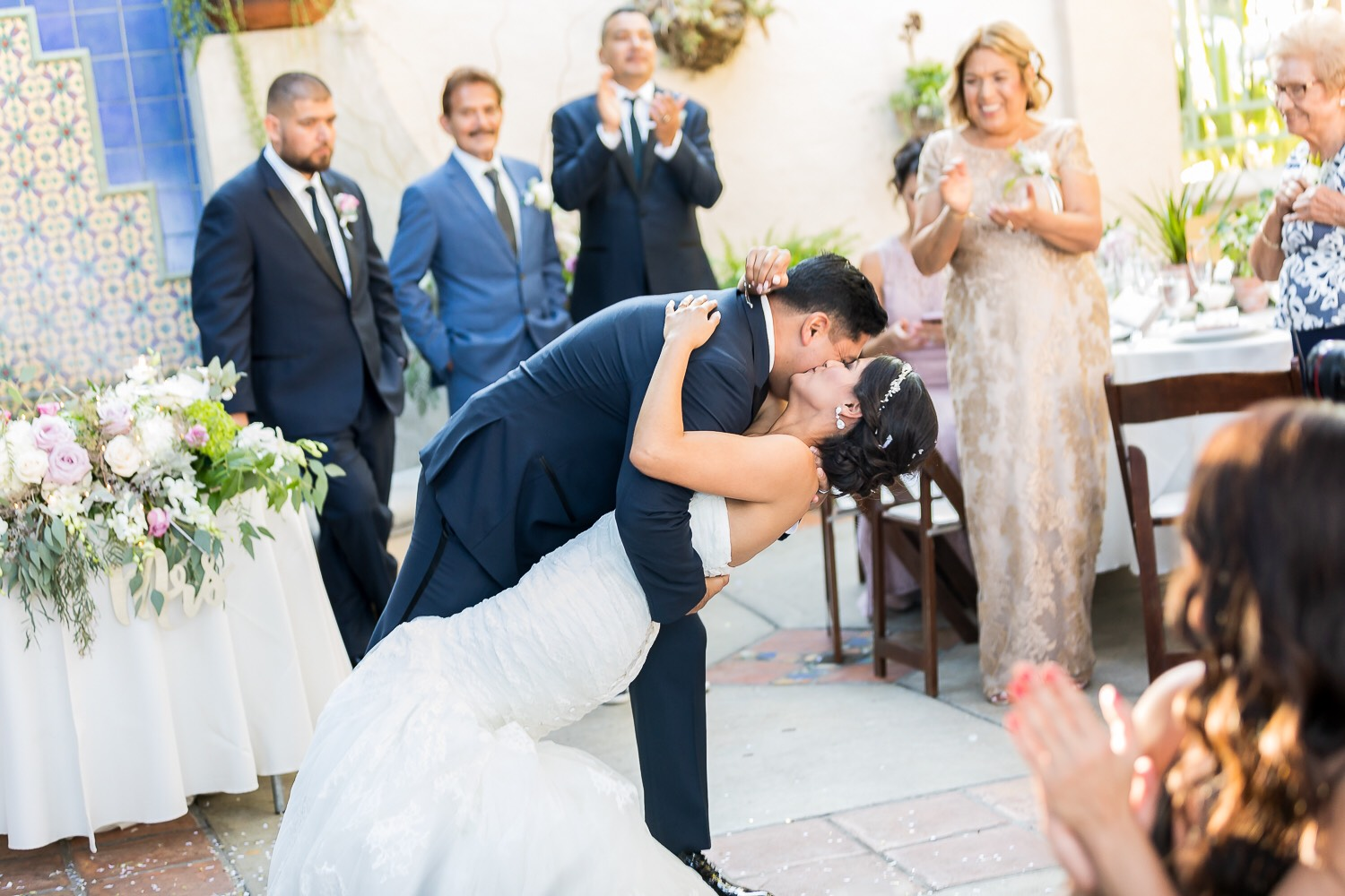 Photo of First Dance with Romantic Dip and Kiss.jpg