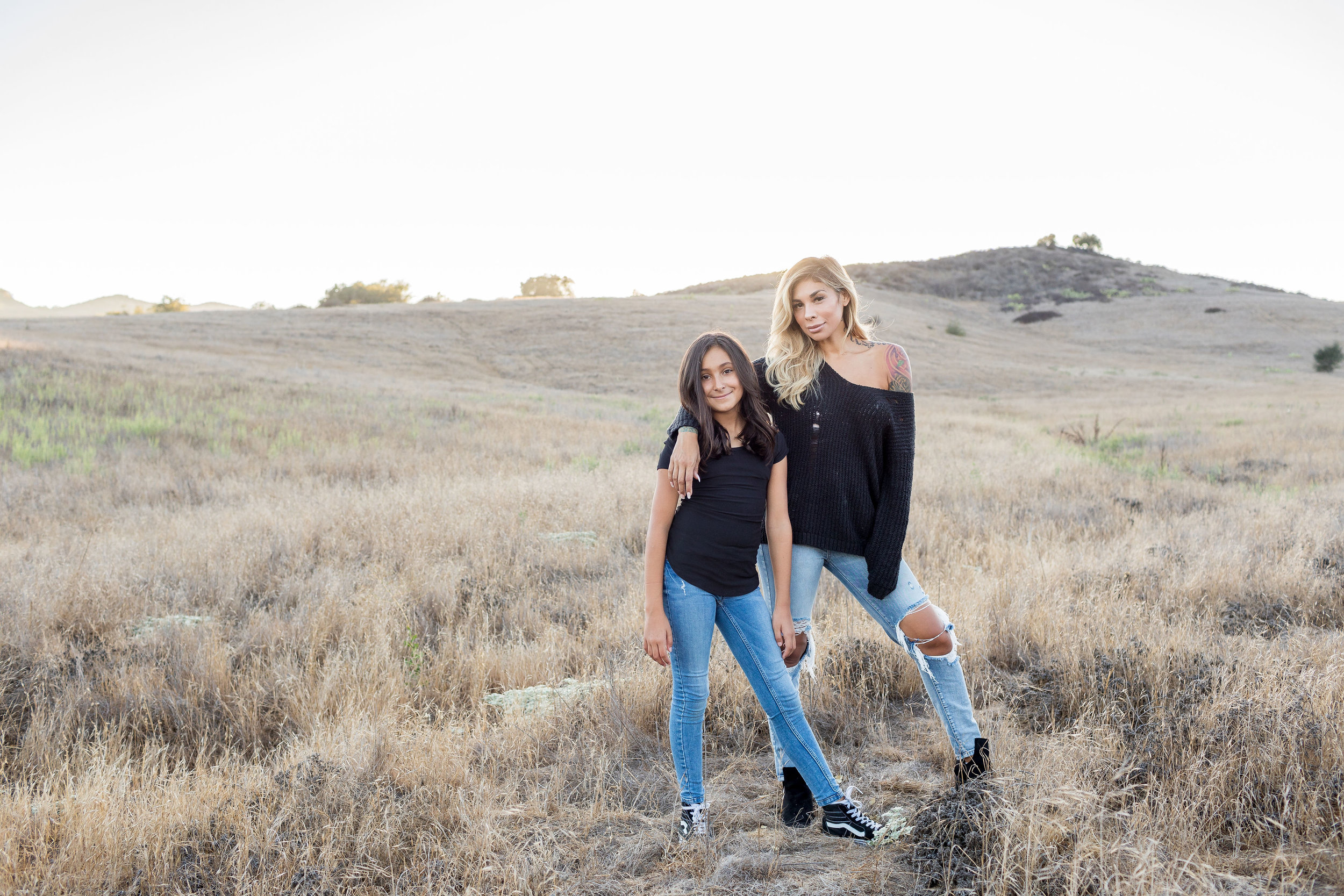 !Mother Daughter Models Coto De Caza Family Mini Photoshoot.jpg