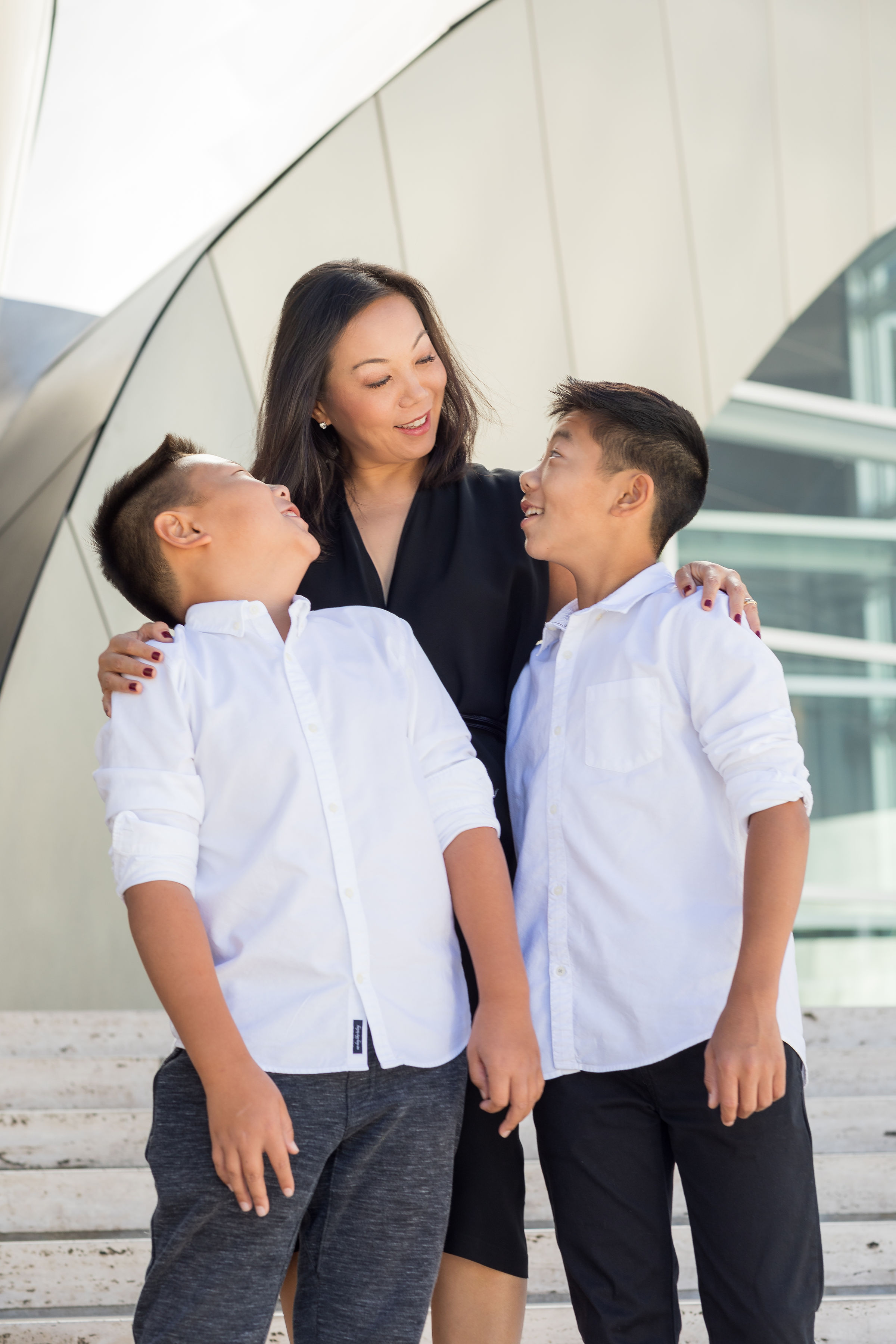 ! Mother and Son LA Walt Disney Concert Hall Photo Session.jpg
