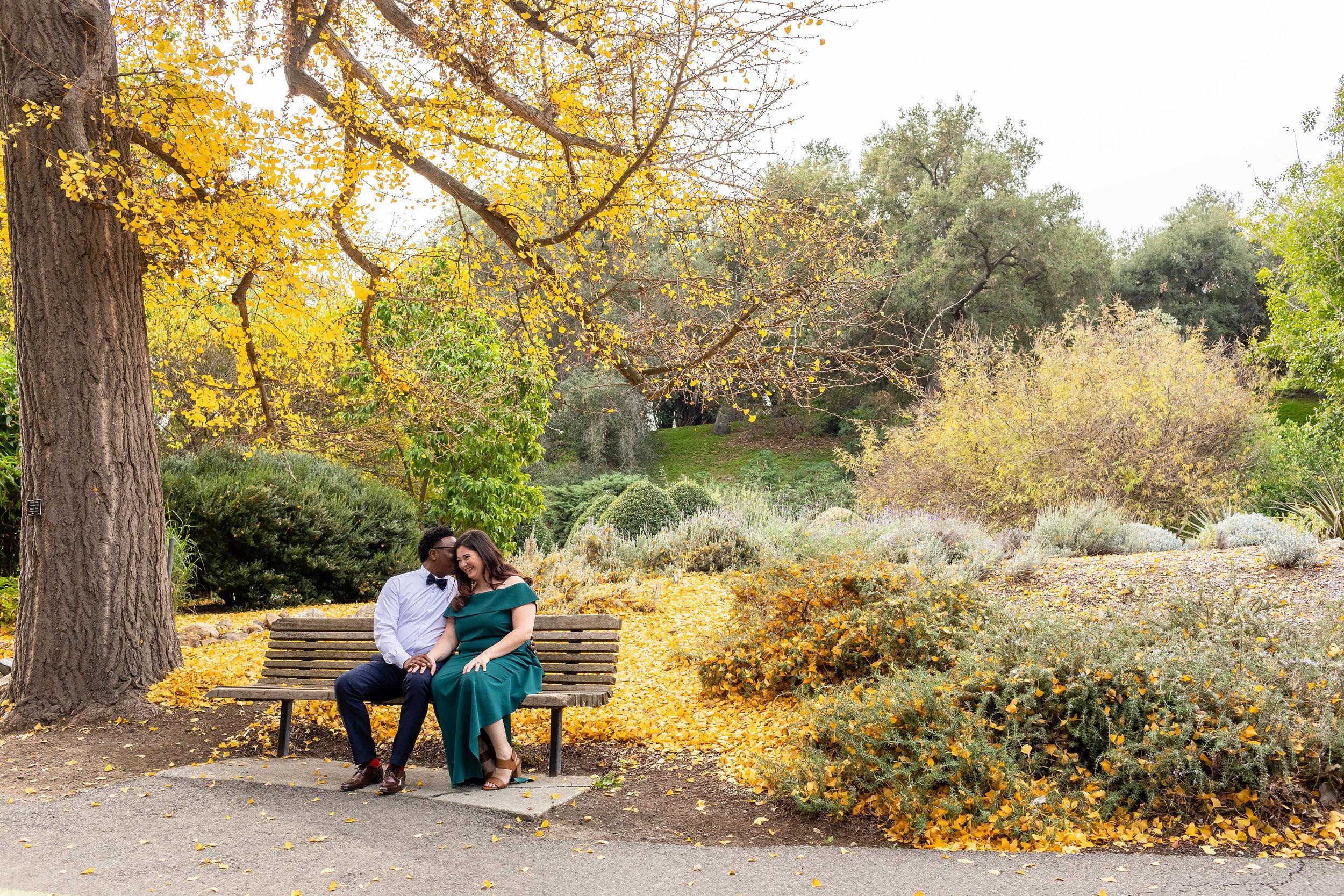 ! Los Angeles Arboretum Engagement Photo Session.jpg