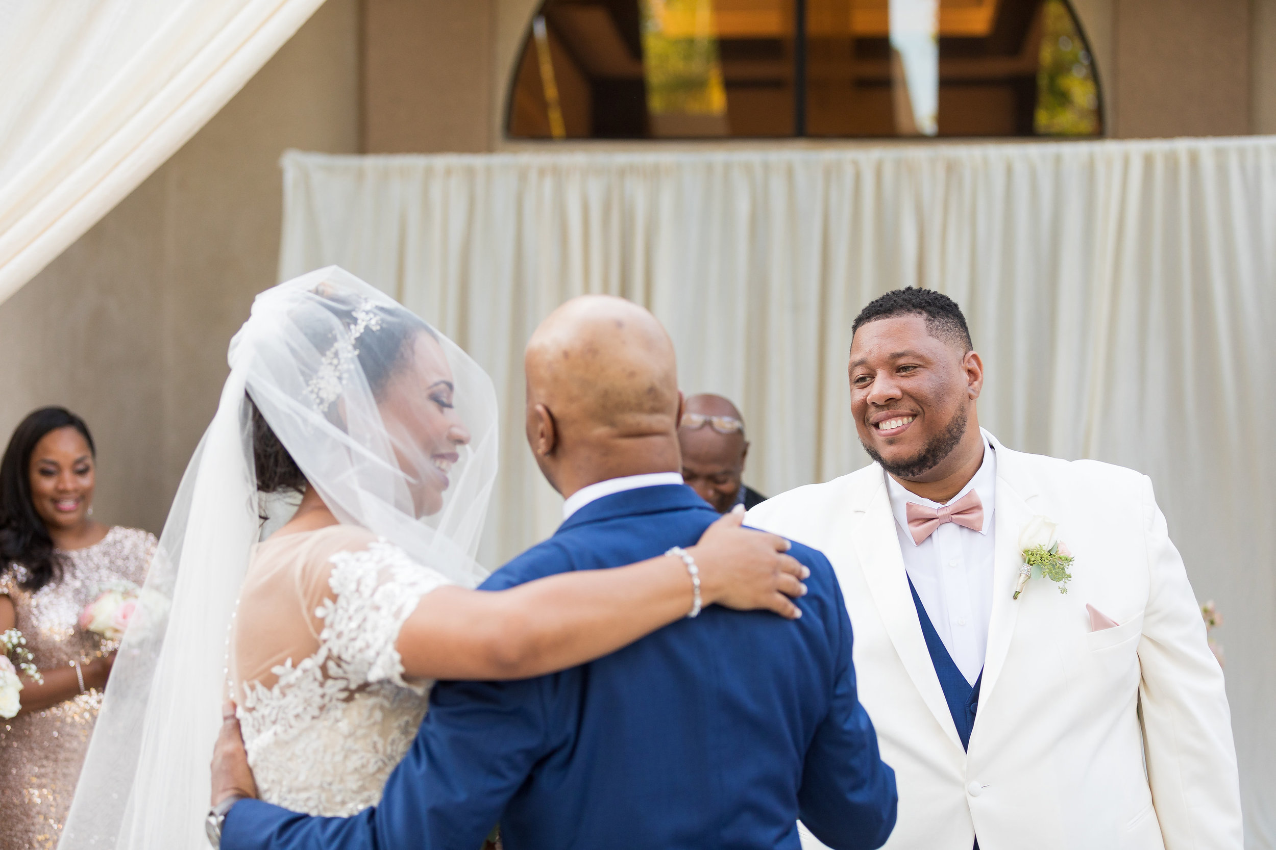 ! Father gives away bride at Long Beach Wedding.jpg