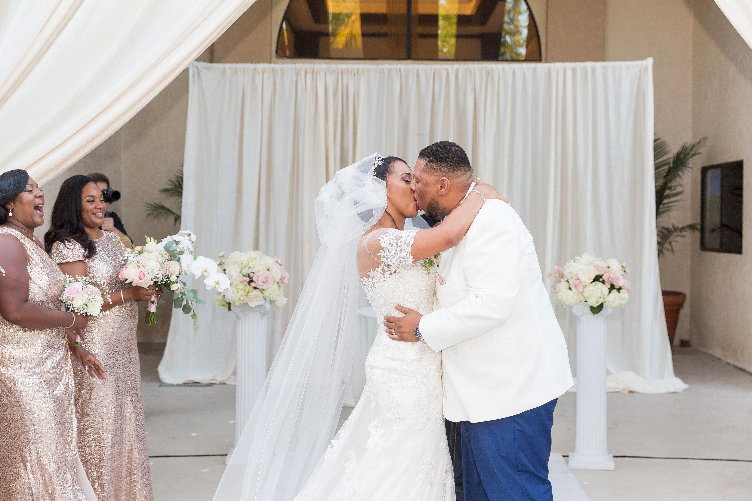 ! Long Beach Wedding Kiss at The Grand.jpg