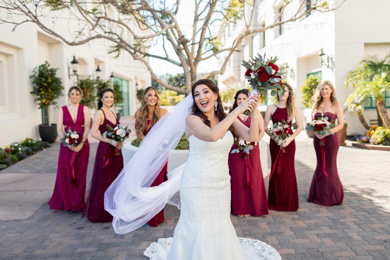 ! Bride and Bridesmaids at Doubletree by Hilton Hotel San Pedro.jpg