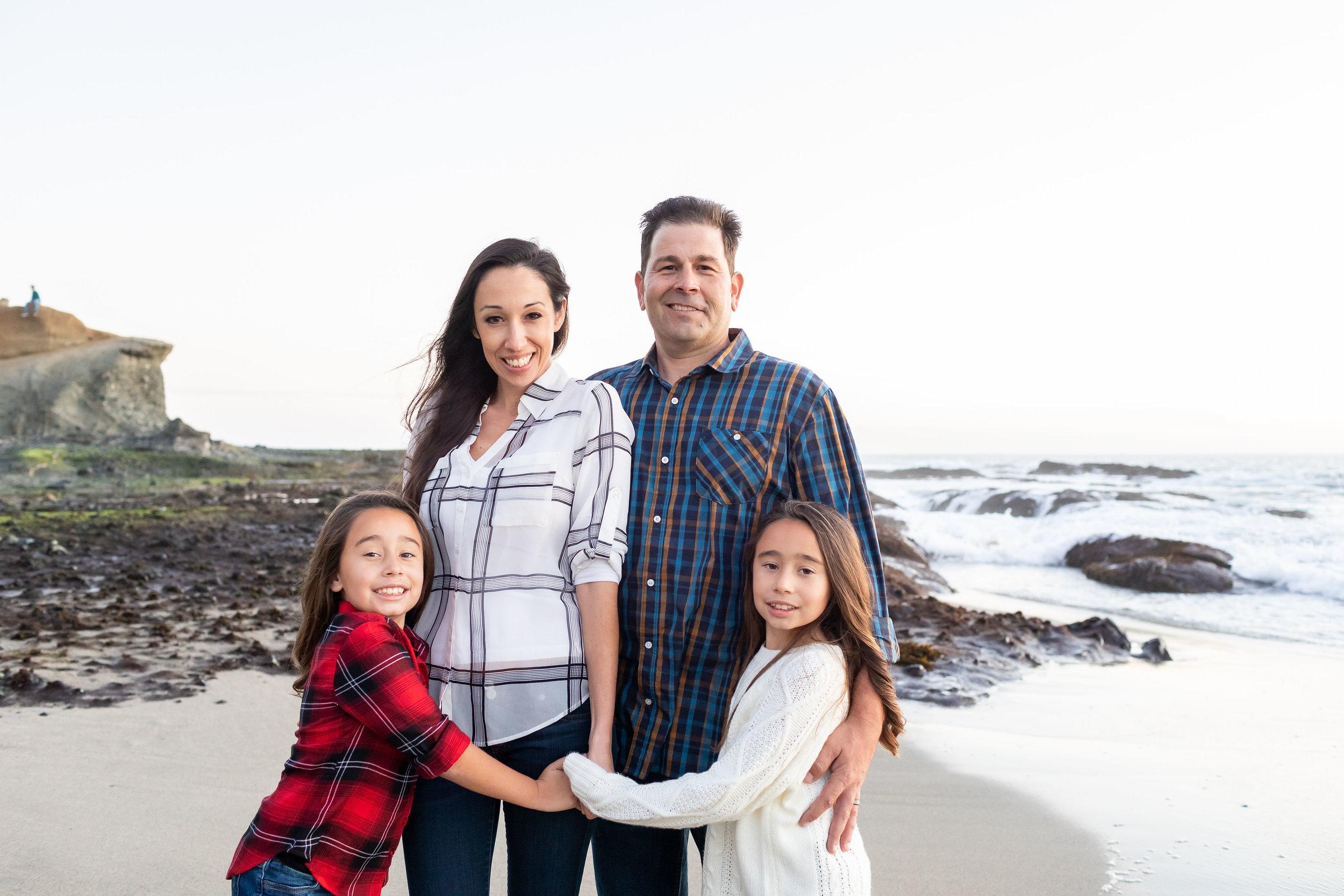 ! OC Family photographer beach overcast sunset session.jpg