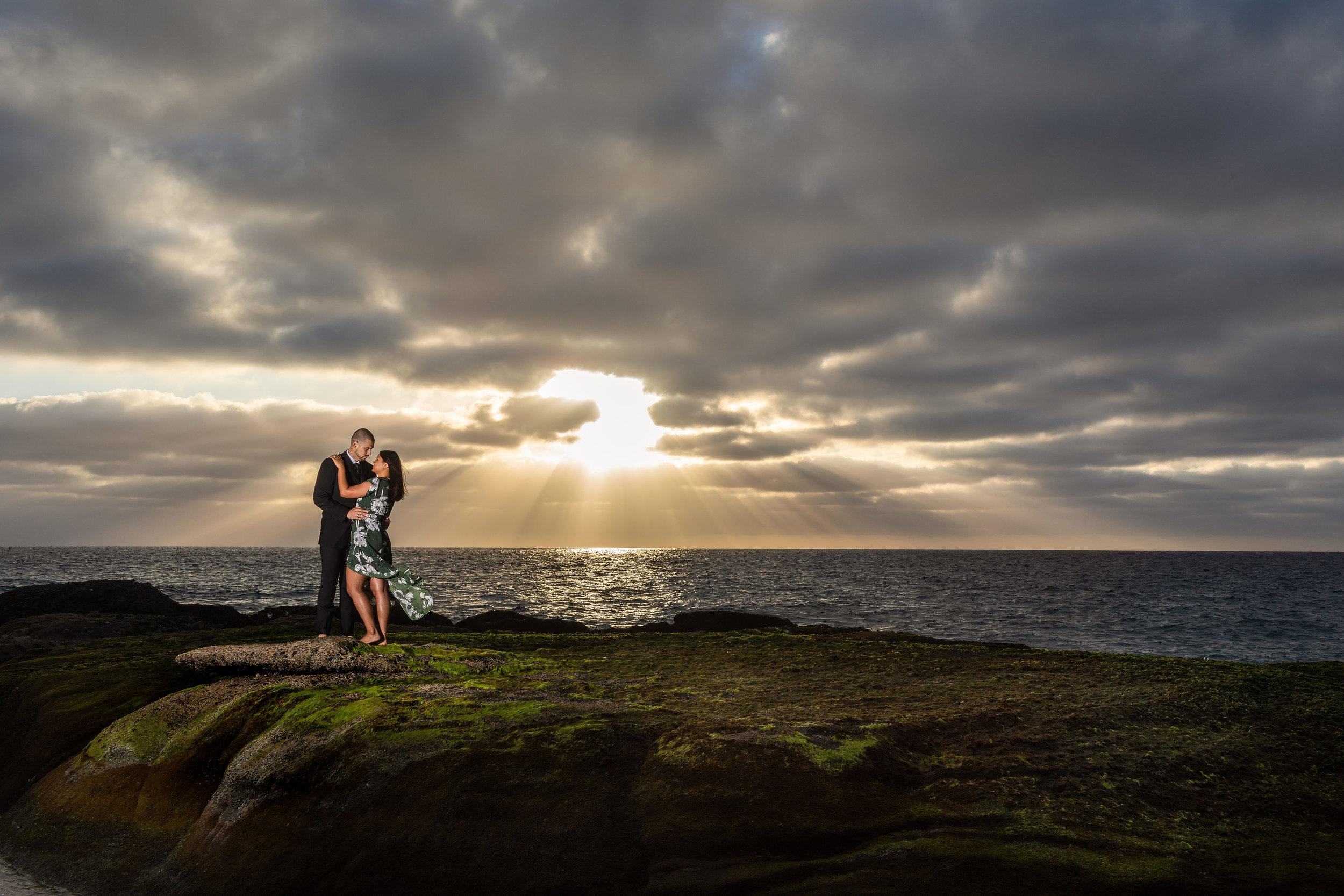 ! Dramatic OC Wedding Photographer Beach Engagement Session.jpg
