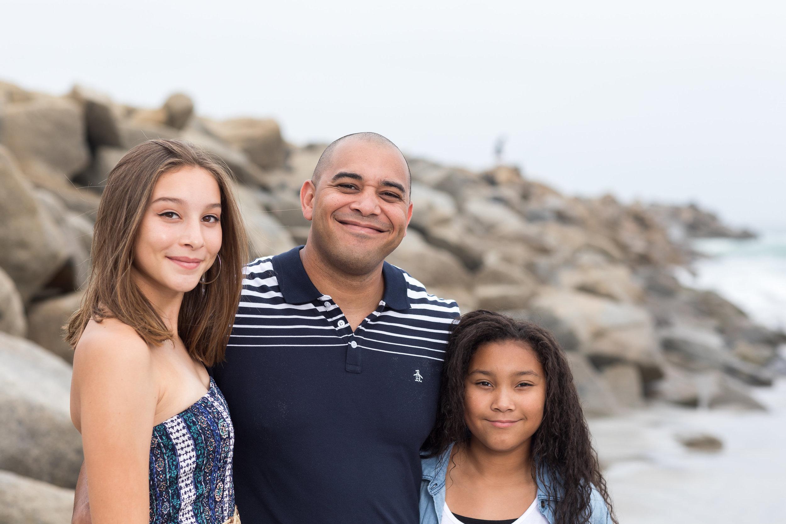 ! Beach photoshoot daddy and his girls.jpg