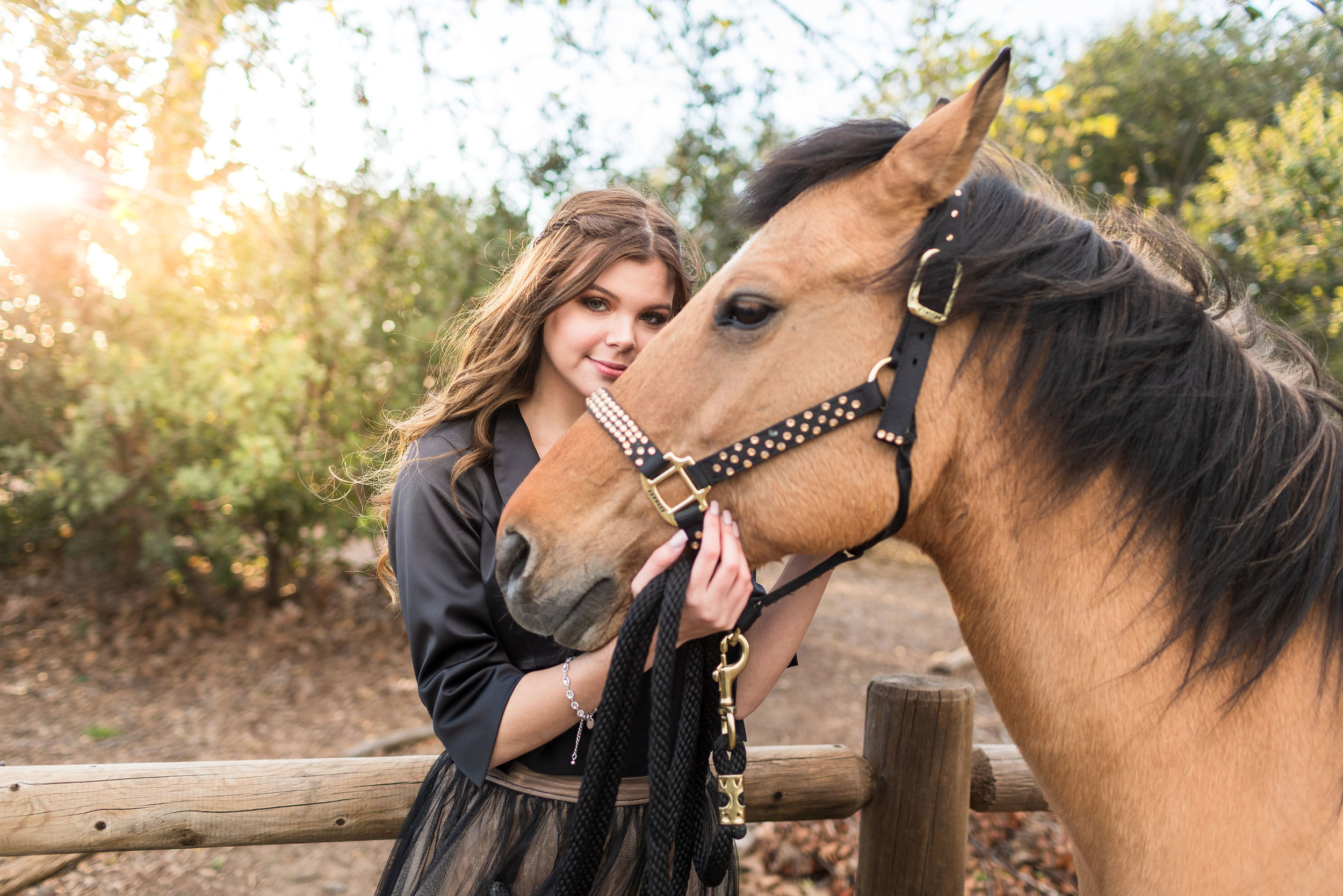! Senior Portraits with Horse in Huntington Beach.jpg
