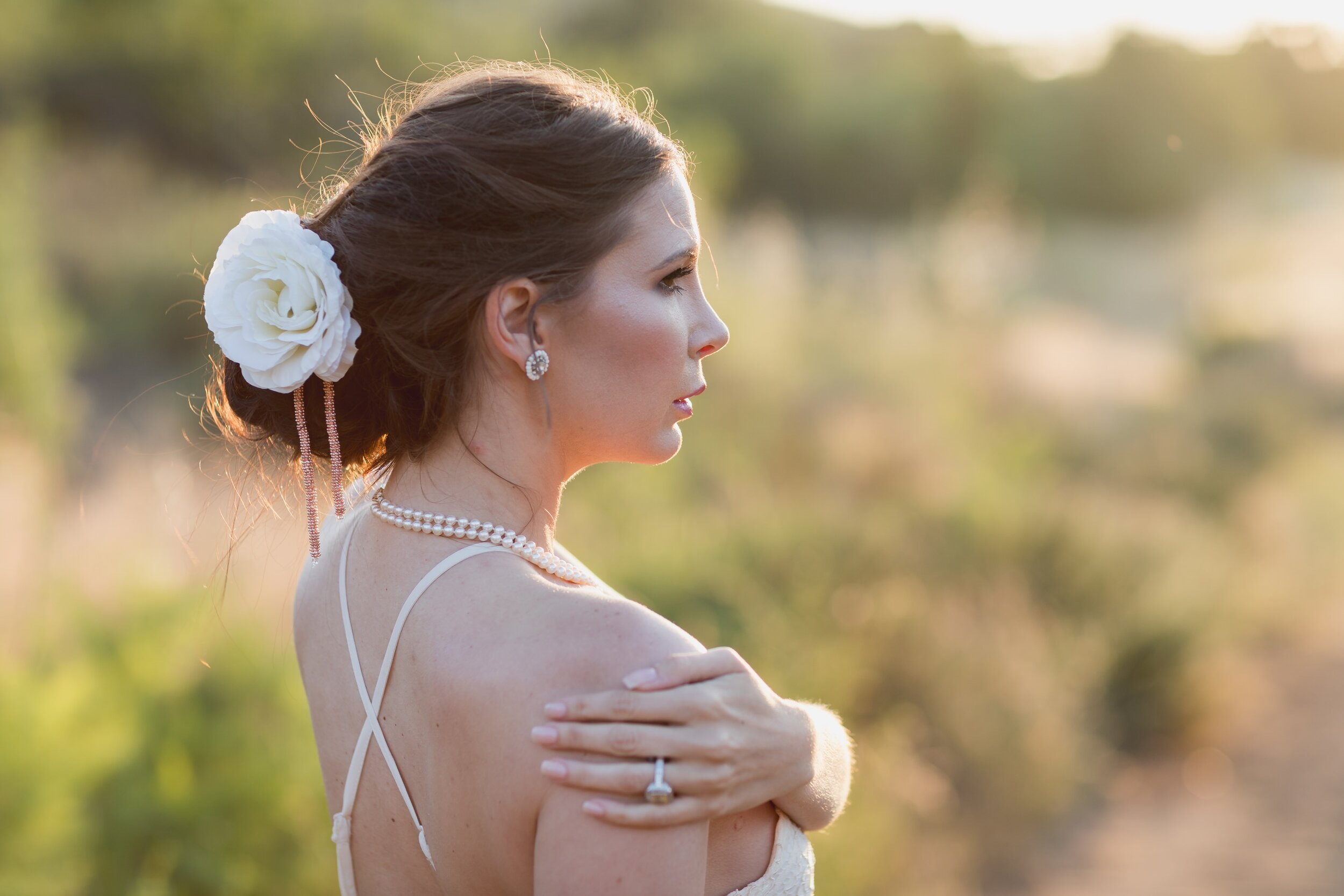 ! Sunset Wedding Bridal Portraits in Orange County by James Korin Photography.jpg