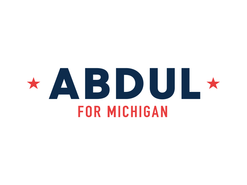 Logo for Abdul El-Sayed, a frontrunner in Michigan's 2018 Democratic gubernatorial primary.