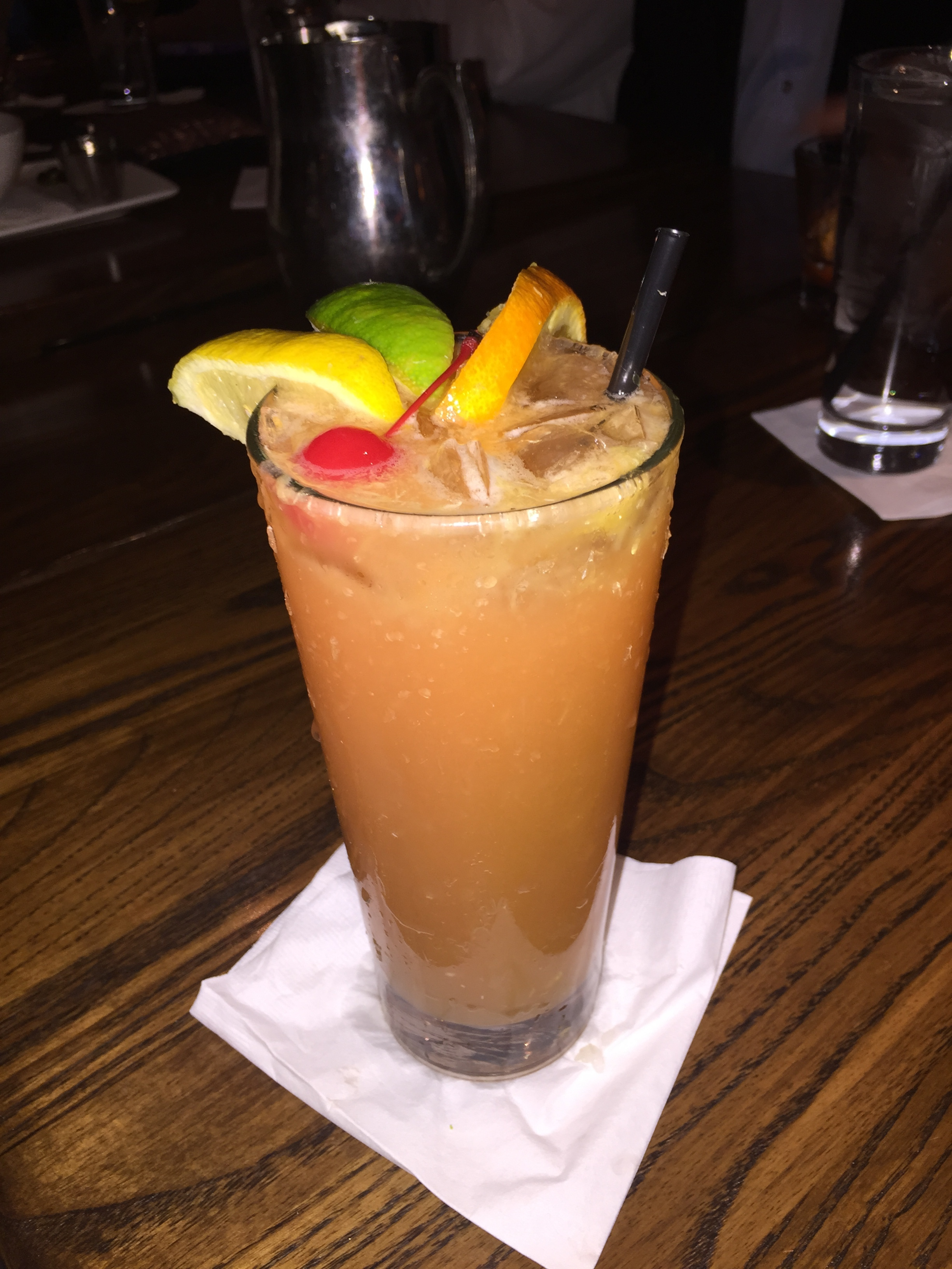 I started with a Tropical Long Island.