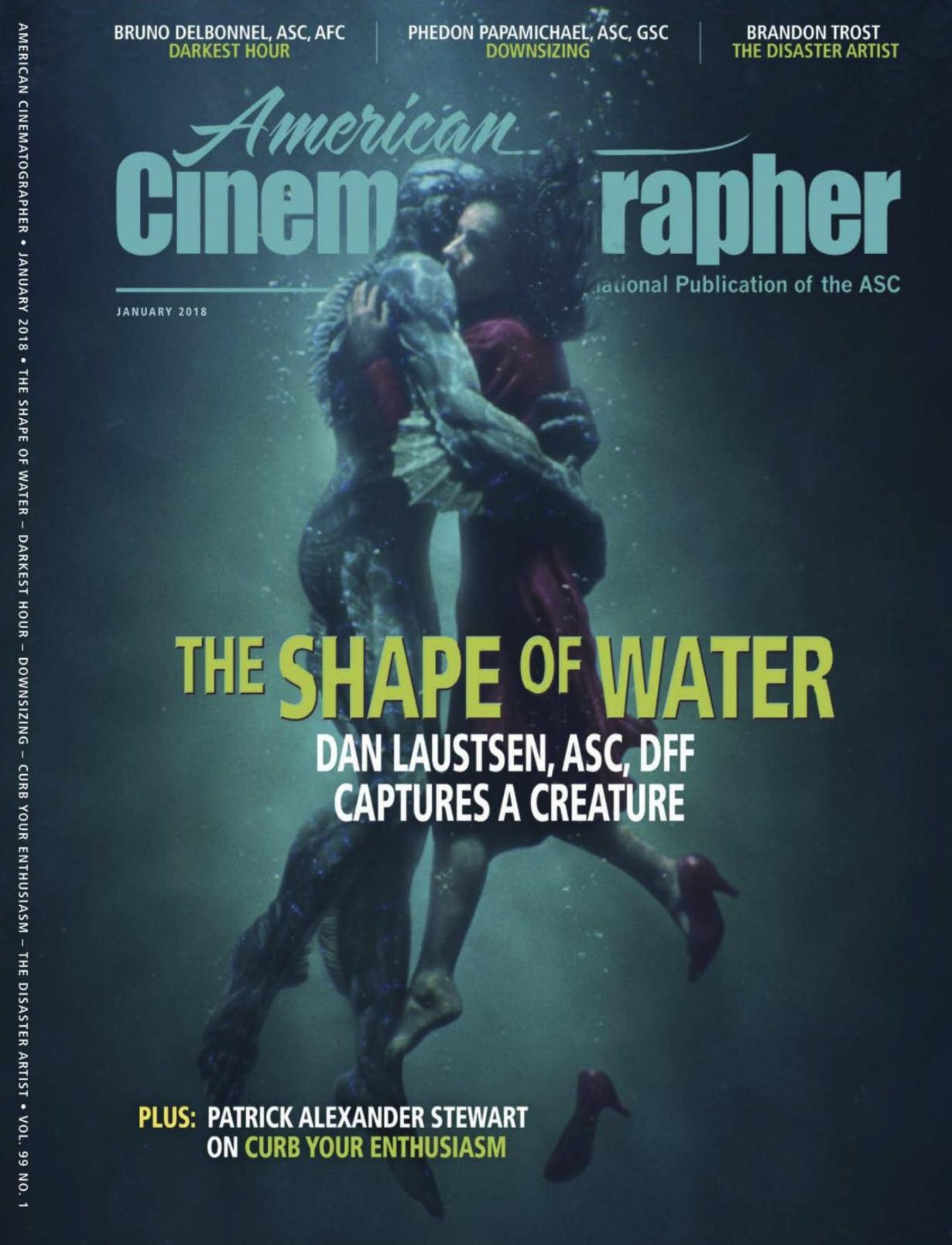 press - AMERICAN CINEMATOGRAPHER MAGAZINE