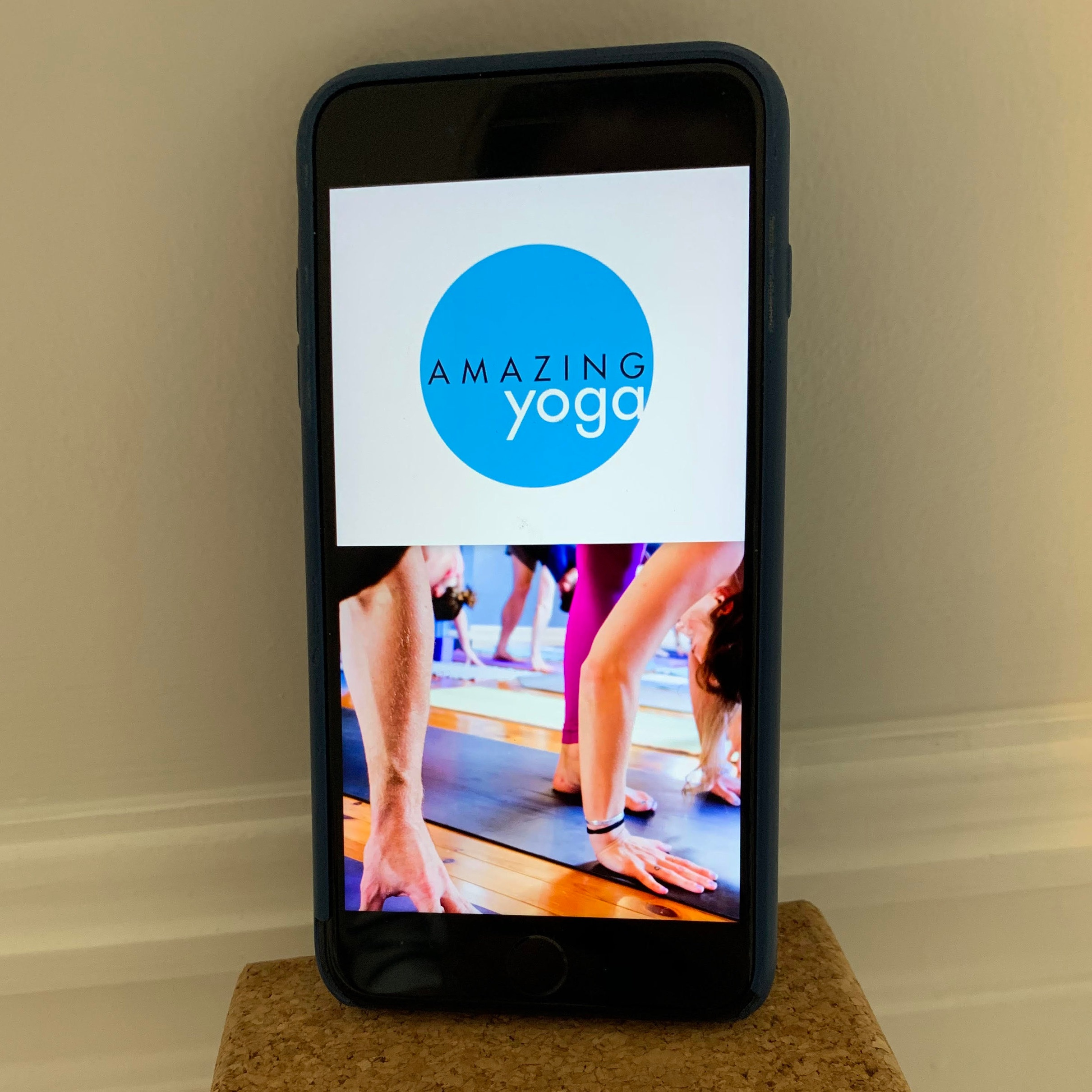 Amazing Yoga App - Connect to the daily class schedule and purchase class passes right from your phone or tablet.