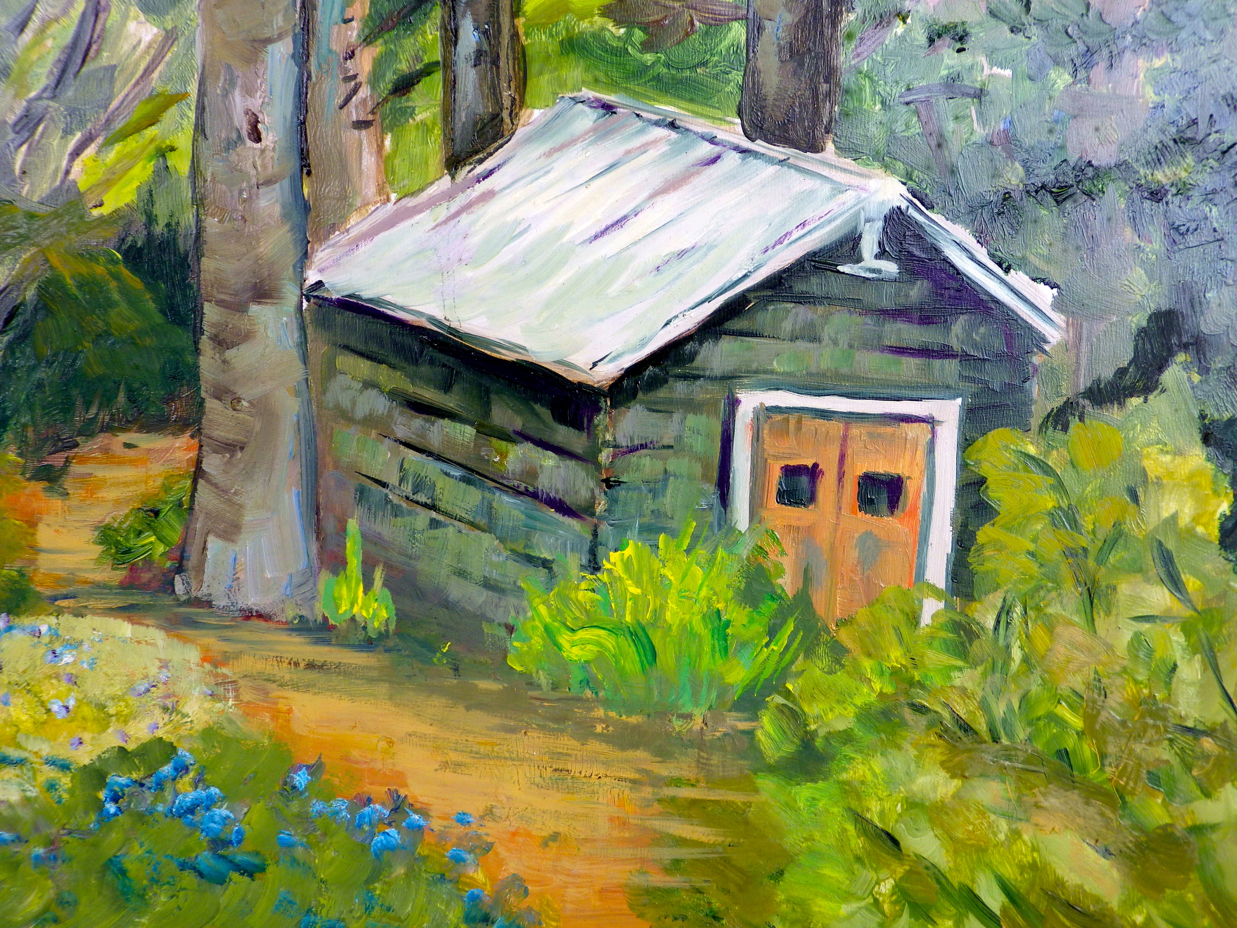 Garden Shed At The Glades