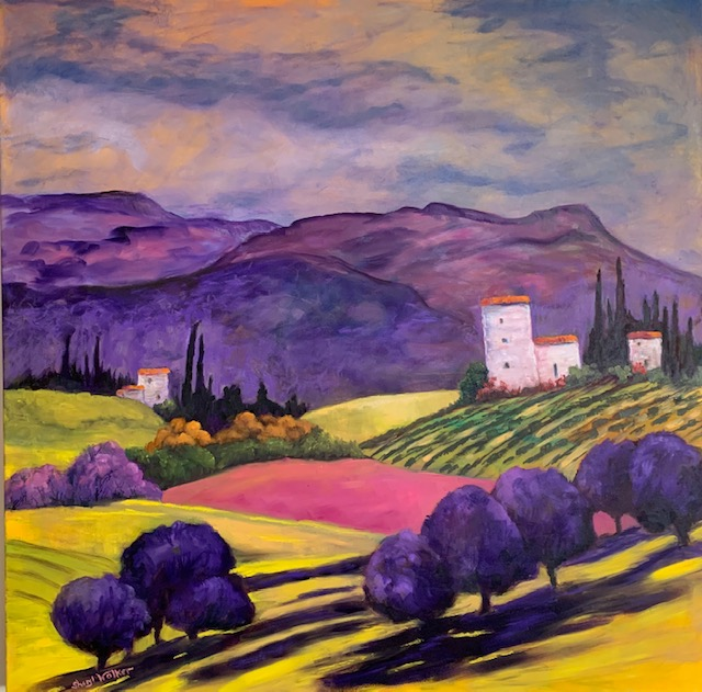 Tuscan Fantasy - Private Collection