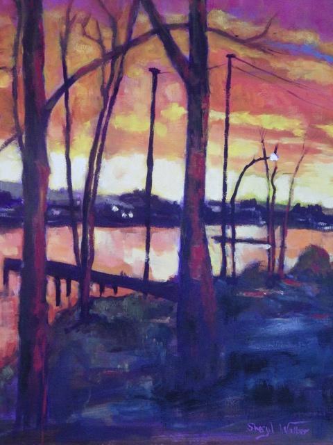 Freedman Fraser Sunset - SOLD