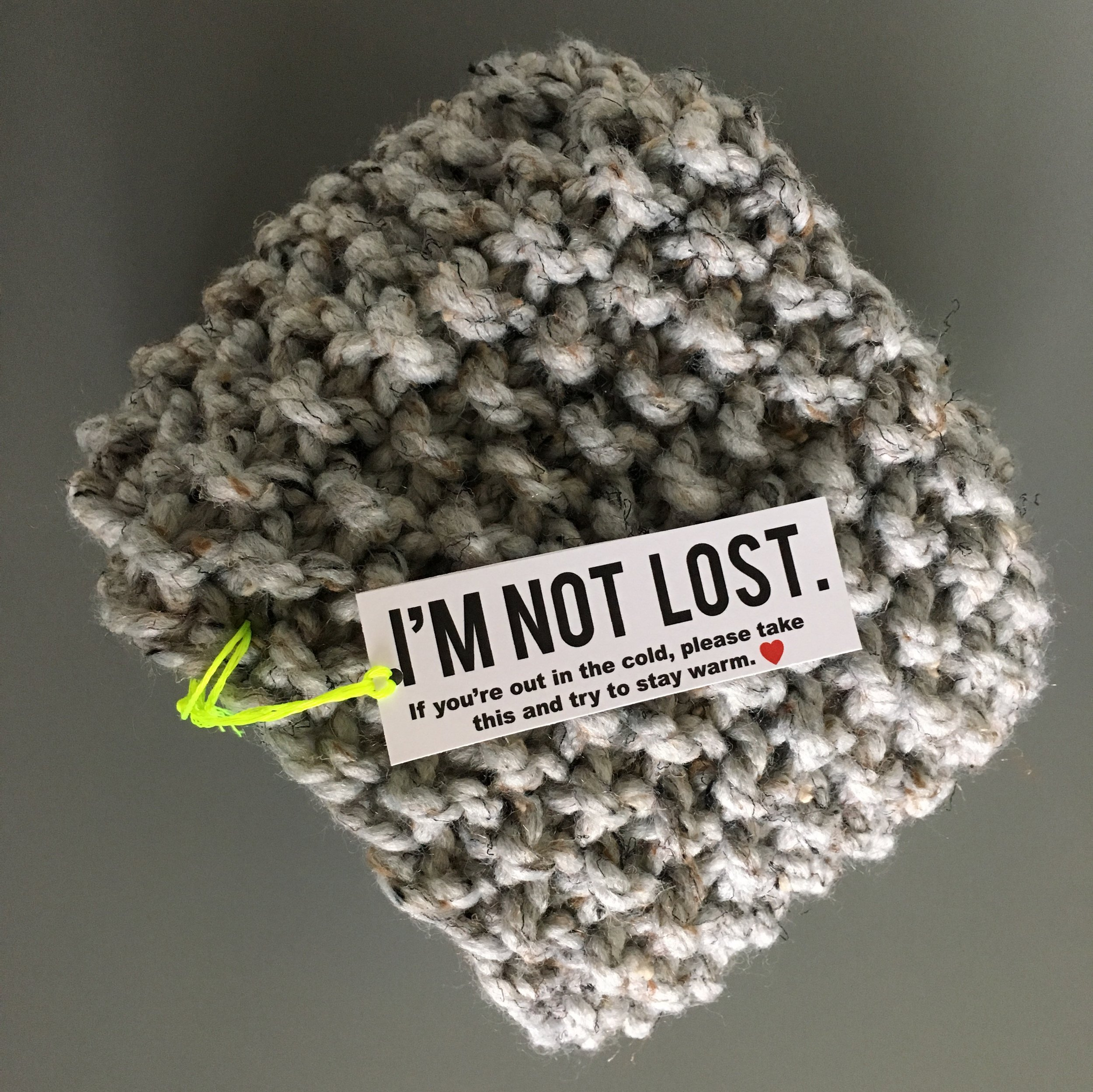 im not lost tag