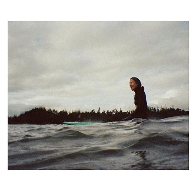 Take me back to fun days surfing with a group of rad women! . . . . . . . . #35mm #nikonosproject #shootfilm #coldwaterclub #vancouverisland #sheexplores #anotherescape #freshairclub #besiders #lesothers #alwaysgo