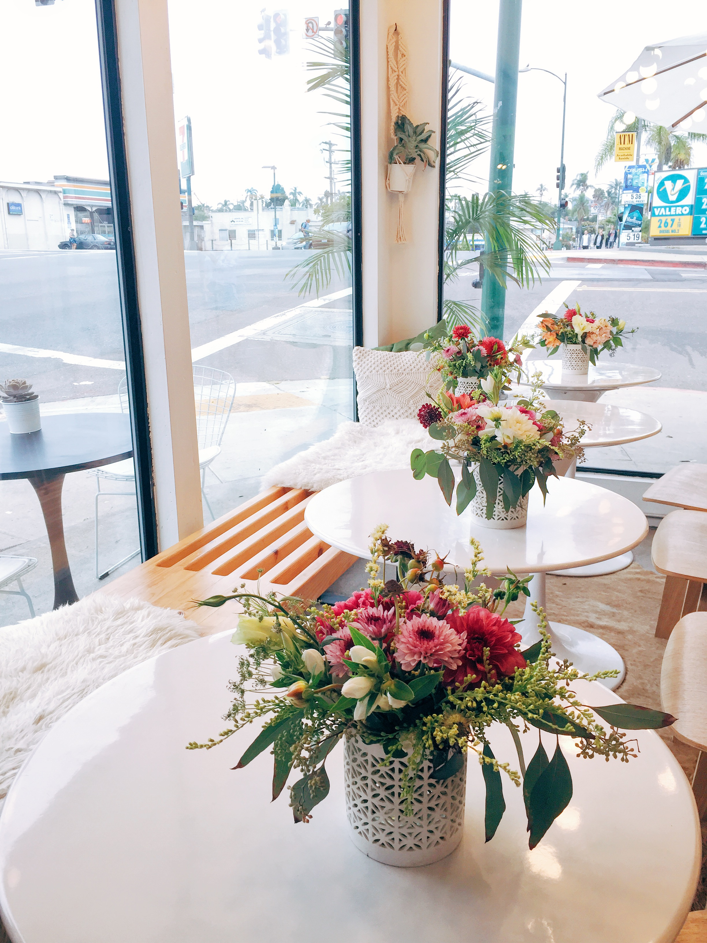 Interior seating at Communal Coffee shop in North Park, San Diego | Places to visit in San Diego