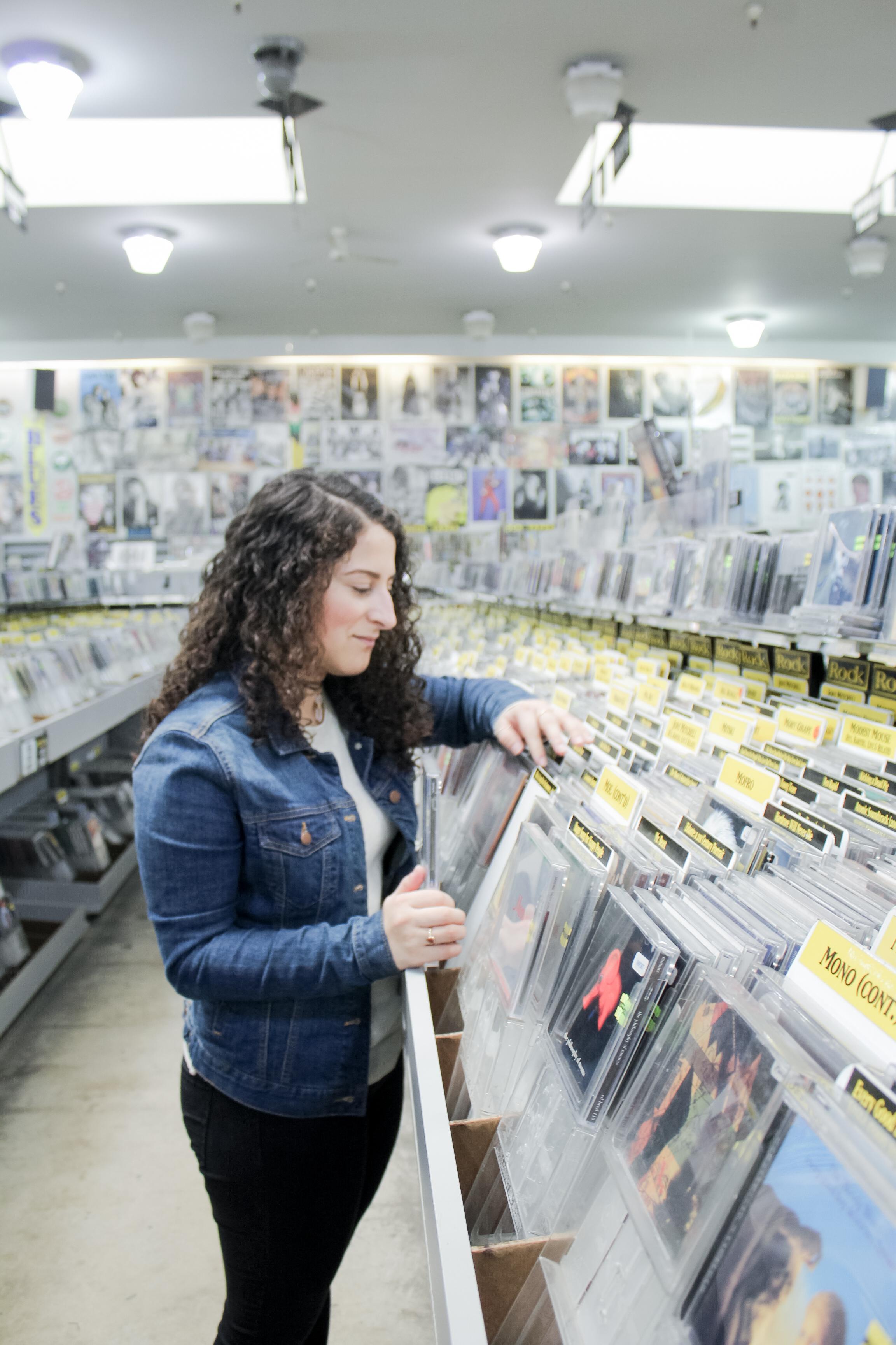 Amoeba Music Store in the Haight-Ashbury neighborhood of San Francisco | Tinted Green