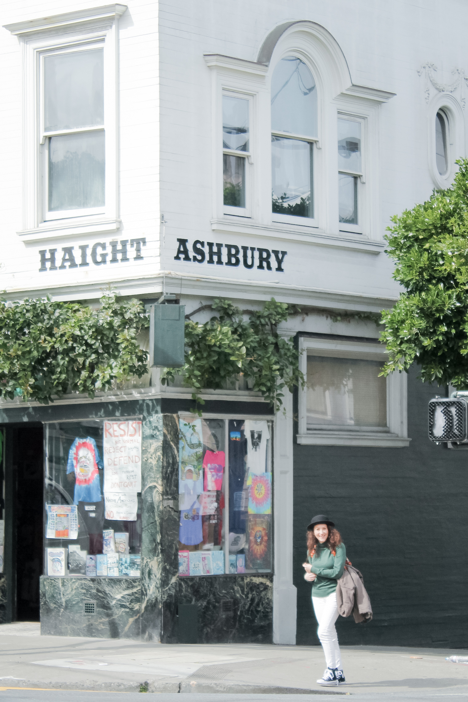 7 PLACES TO VISIT IN SAN FRANCISCO'S HAIGHT-ASHBURY | tinted green