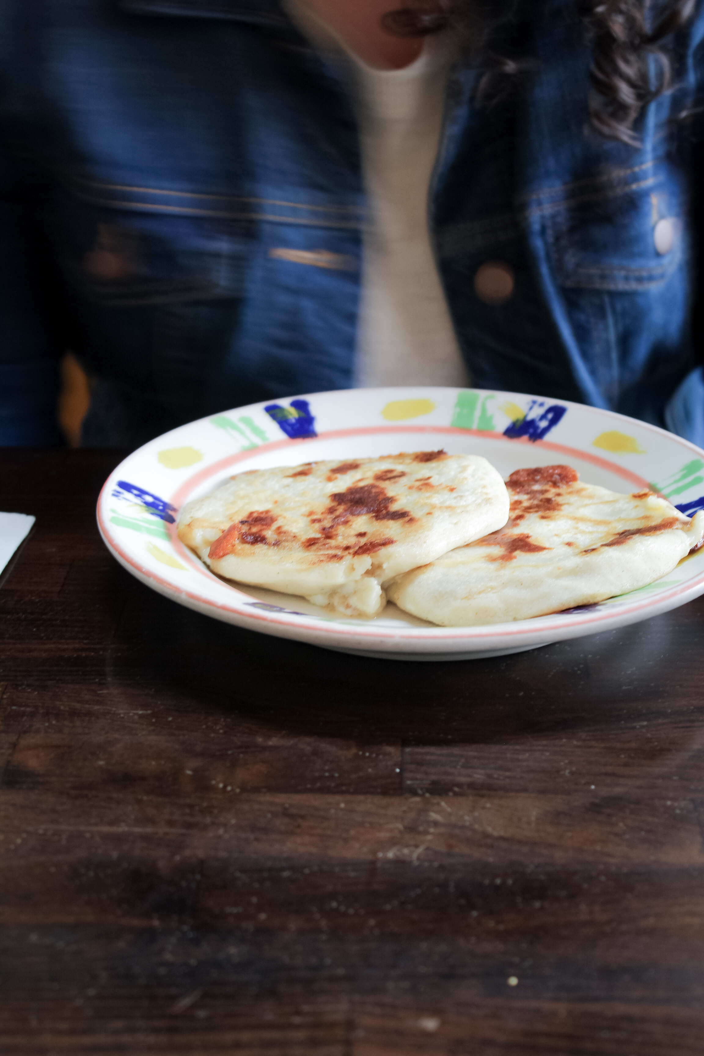 Pupusas in San Francisco's Mission District | tintedgreen