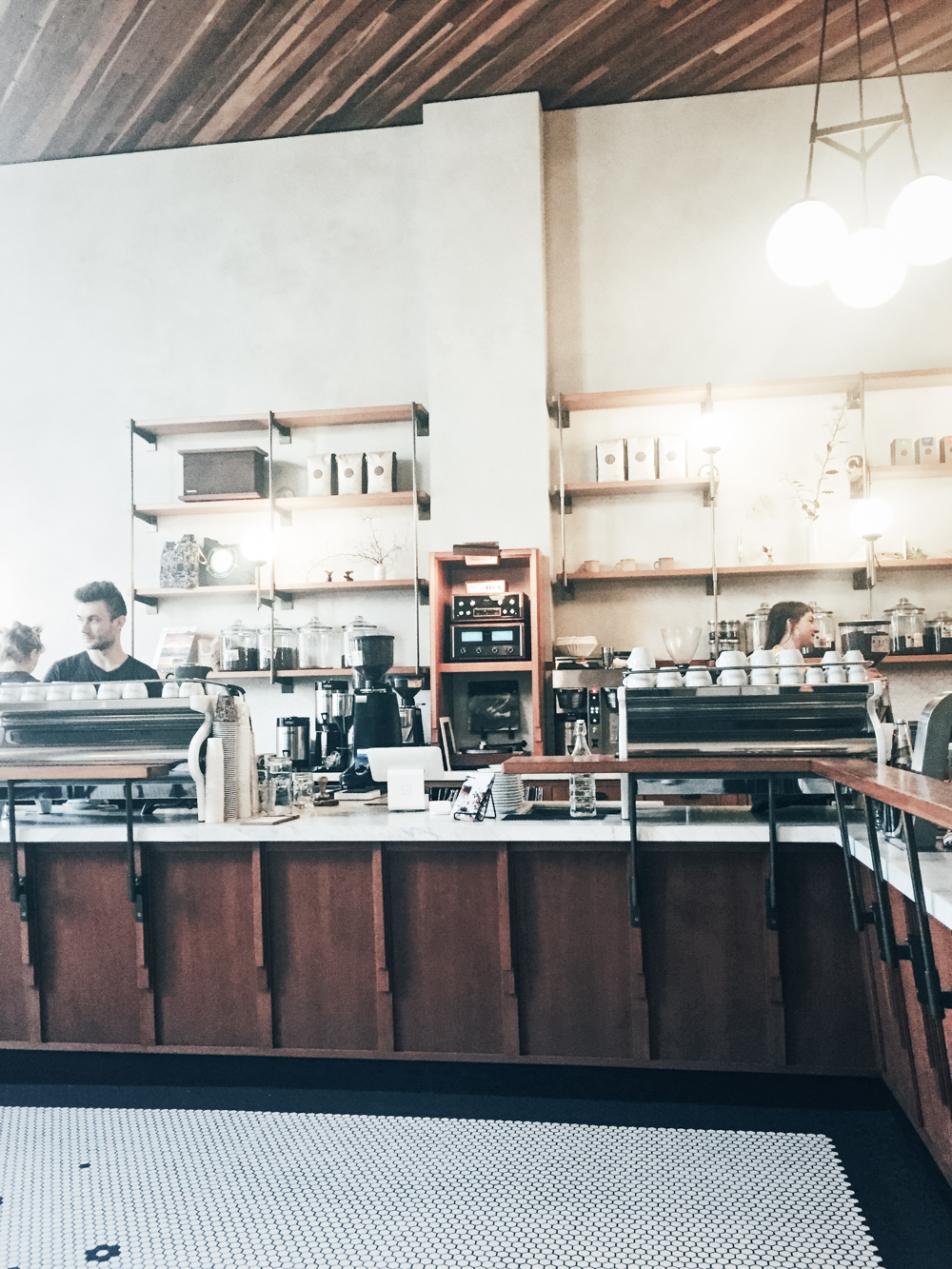Sightglass Coffee Shop in San Francisco's Mission District | tintedgreen