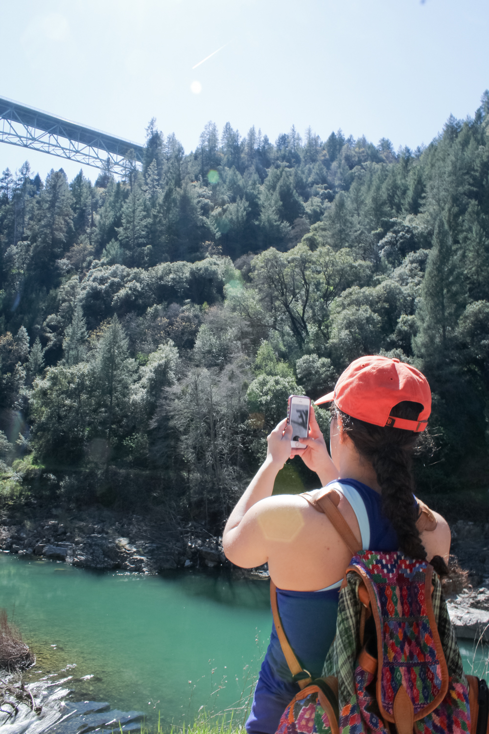 Hiking at Lake Clementine dam in Auburn, CA | easy northern california hikes | American River Confluence | tintedgreen