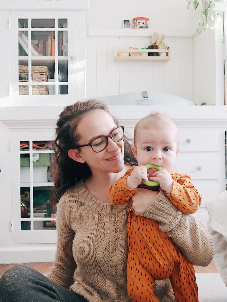 tinted-green.com | mother and son, boy mom, motherhood photos