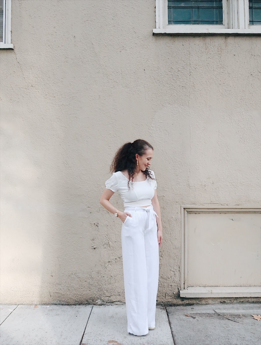 what to wear to diner en blanc tinted green