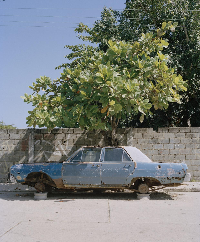 41. Broken car in Rio Chico_.jpg