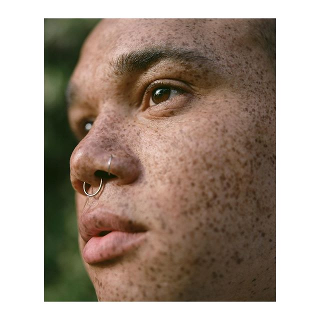 Yearly shoot with @freckledlightskin 🌴 Missed you!!!!!! #silvanatrevale #freckledlightskin #mediumformat #kodak #labyrinthphotographic #london #freckles