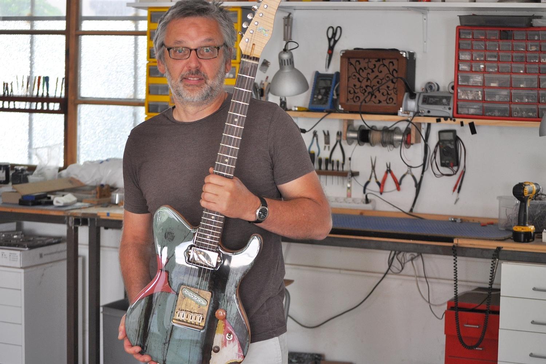 Michael Spalt – Gitarrenbauer und Gründer von Spalt Instruments (Wien)