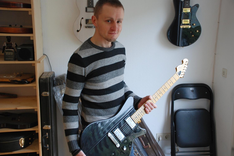 Oliver Baron (Gitarrenbauer) im Interview