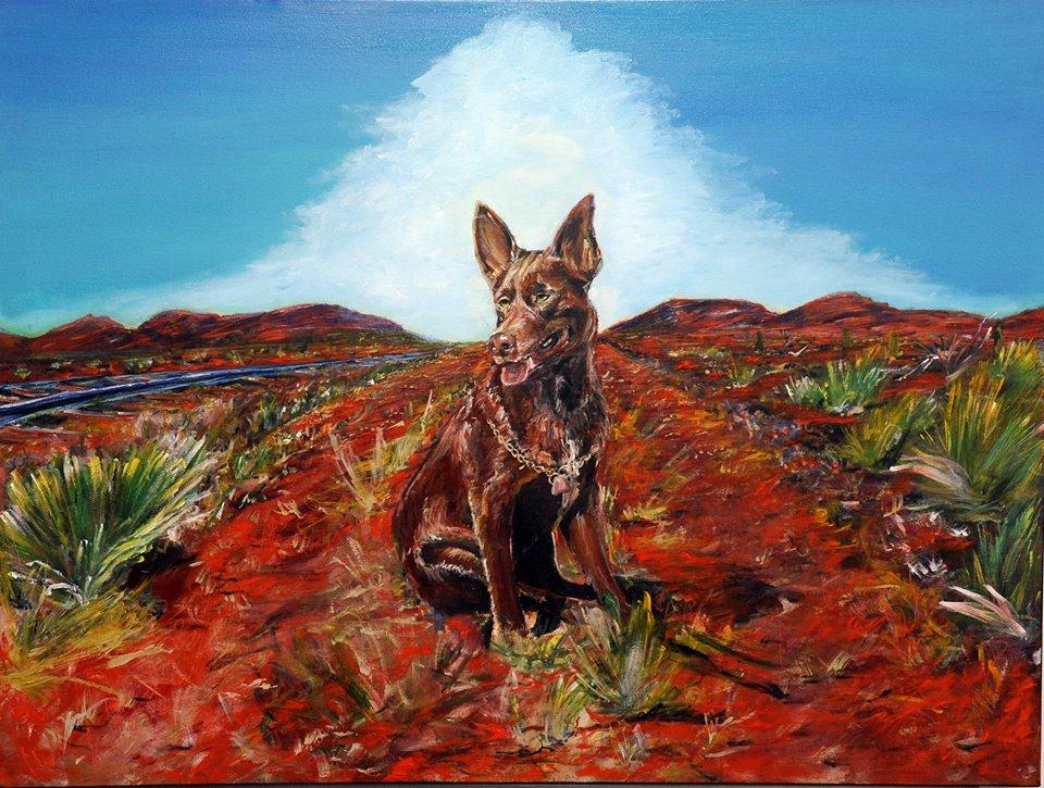 RED DOG WAITING