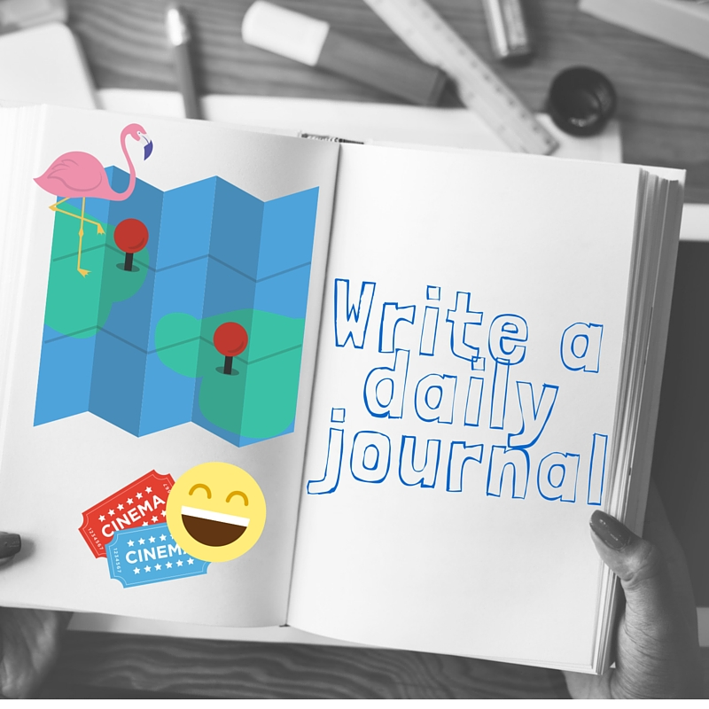 Write a dailyjournal