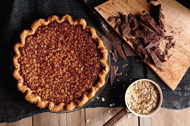 Oatmeal Pie Recipe Four and Twenty Blackbirds