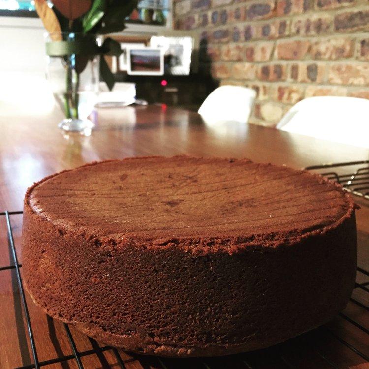 Nana's Chocolate Cake Recipe