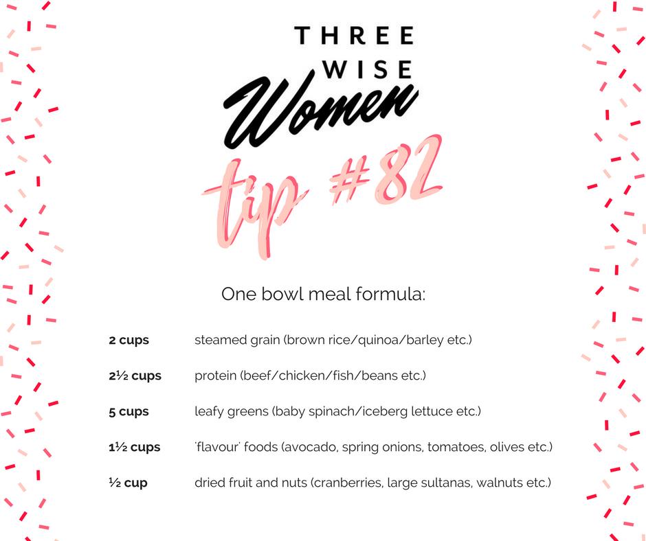 Three Wise Women Cookbook Tip