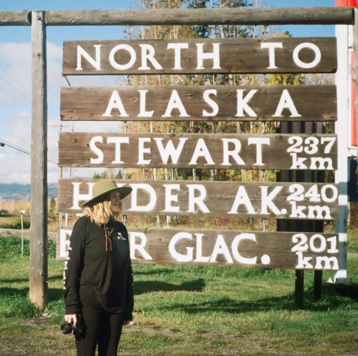 Shot on 35mm Film, on my way to Alaska