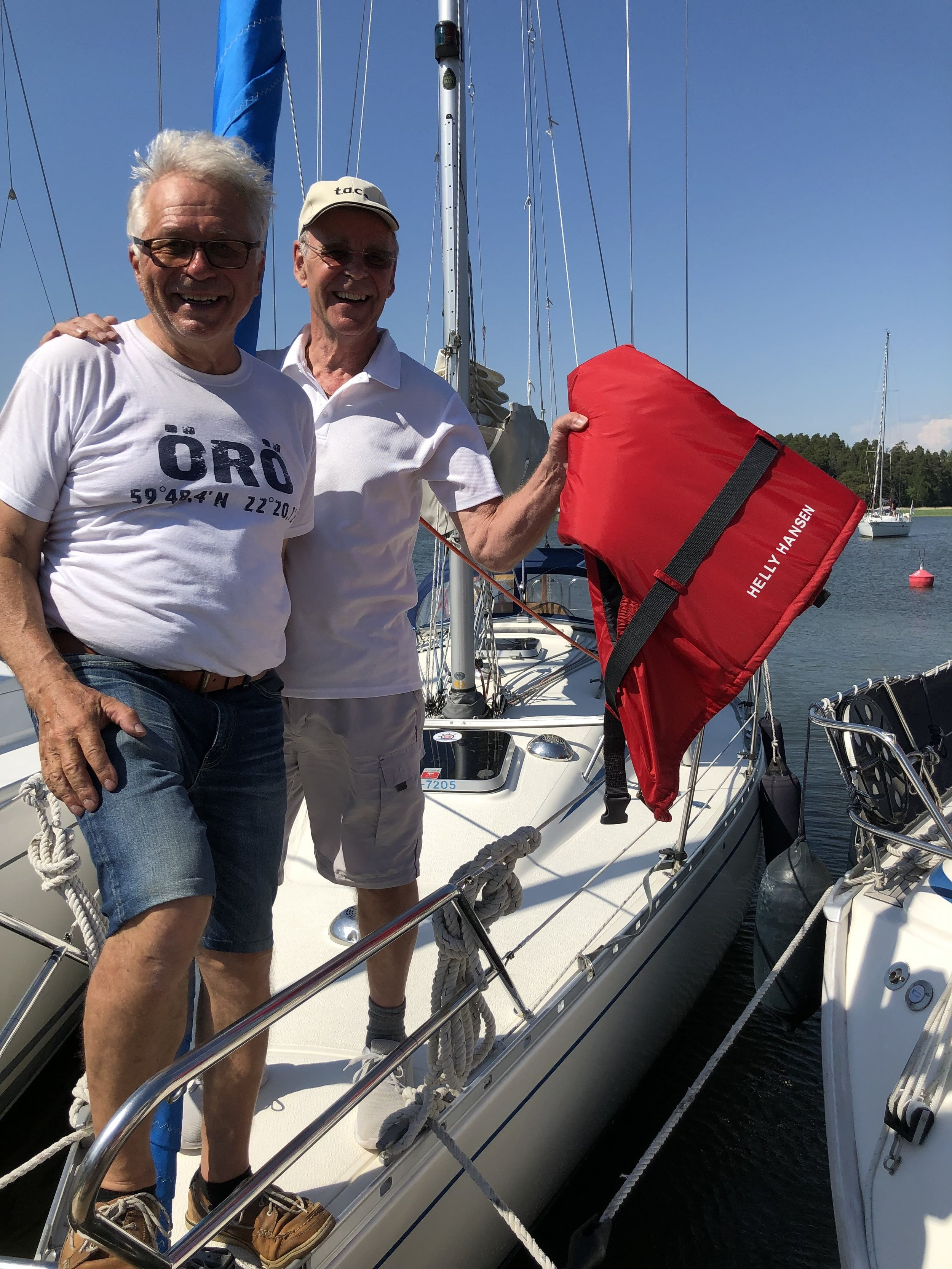 Hannu Rimaila och Ingmar Karlsson