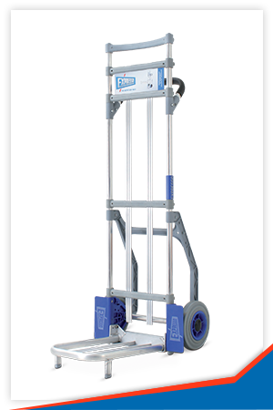 PARCEL TROLLEY WITH 425 X 280 MM PLATE